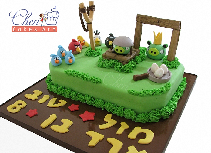 AngryBirds Cake1